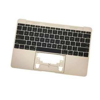 Tastatura Apple MacBook A1534 cu Palmrest auriu